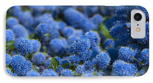 Blue Flowers Phone Case by Svetlana Sewell