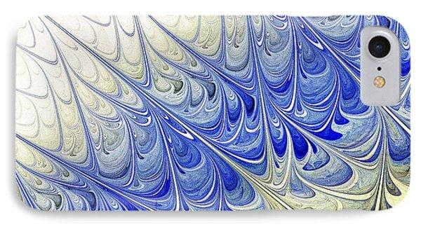 Blue Folium IPhone Case