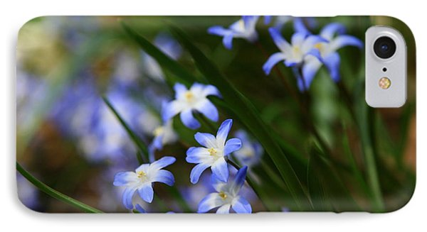 Blue For You Phone Case by Neal Eslinger