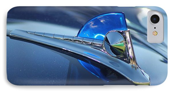 Blue Ford Hood Ornament IPhone Case