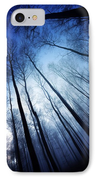 Blue Forest IPhone Case by Philippe Sainte-Laudy