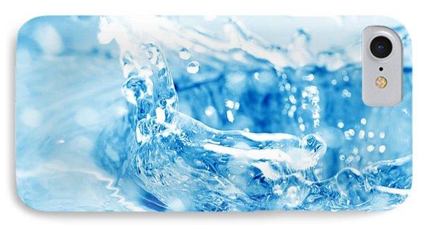 Blue Fresh Water  Phone Case by Michal Bednarek