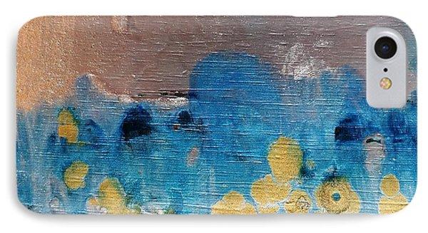 Blue Frost IPhone Case by Yolanda Koh
