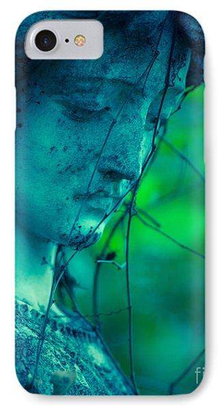 Blue Green Angel IPhone Case