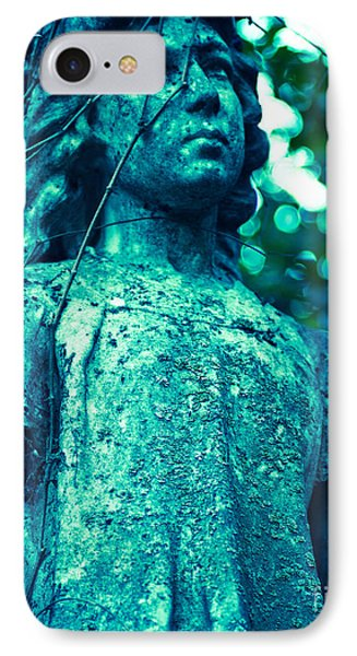 Blue Green Cemetery IPhone Case