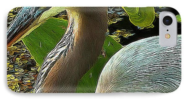 Blue Heron Addict IPhone Case by Jim Pavelle