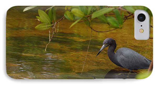 Blue Heron Phone Case by Mark Russell