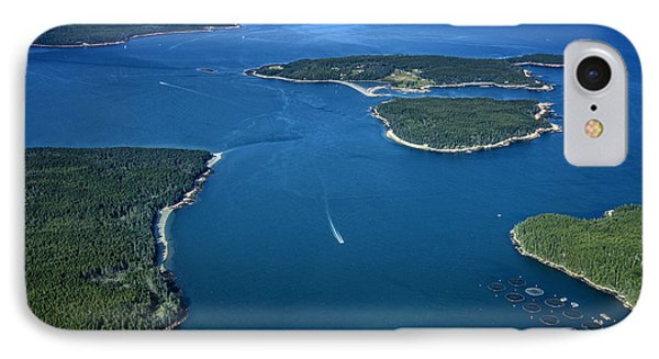 Blue Hill Bay IPhone Case