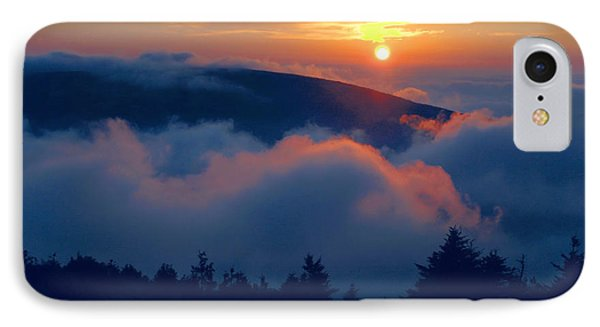 Blue Hill Sunset - Acadia Phone Case by Stephen  Vecchiotti