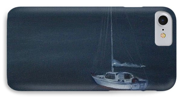 Blue Horizon IPhone Case by Mary Hubley