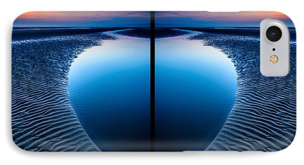 Blue Hour Diptych Phone Case by Adrian Evans