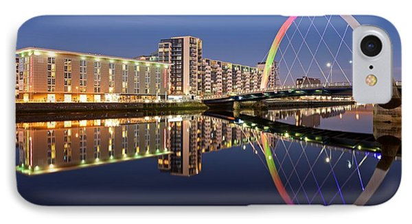 Blue Hour In Glasgow IPhone Case