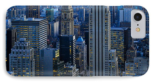 Blue Hour In New York City Usa Phone Case by Sabine Jacobs