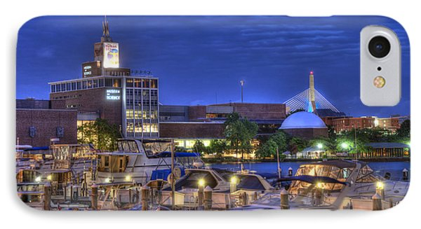 Blue Hour On The Charles River - Boston IPhone Case by Joann Vitali