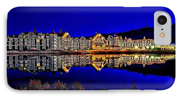 Blue Hour Reflection IPhone Case