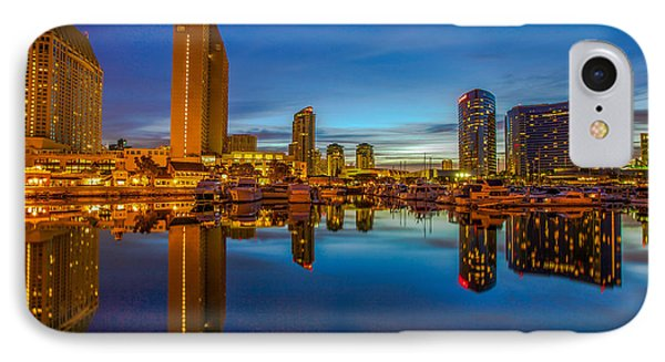 Blue Hour IPhone Case by Robert  Aycock