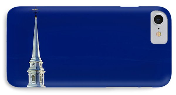 Blue Hour Steeple Phone Case by Jeff Sinon