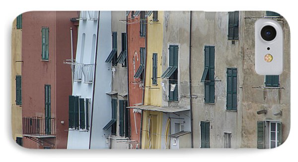 IPhone Case featuring the photograph Blue House Portovenere Italy by Sally Ross