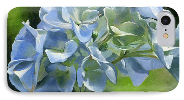 Blue Hydrangea IPhone Case by Alecia Underhill