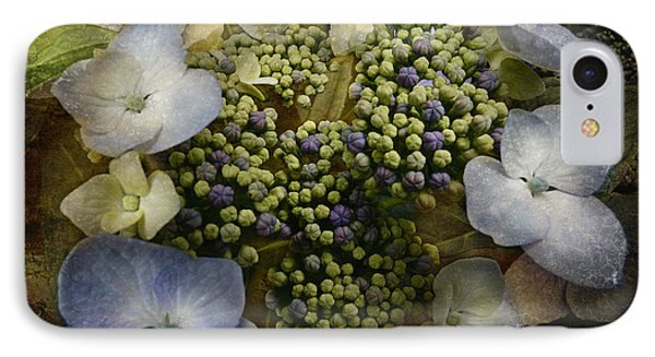 IPhone Case featuring the photograph Blue Hydrangea by Barbara Orenya