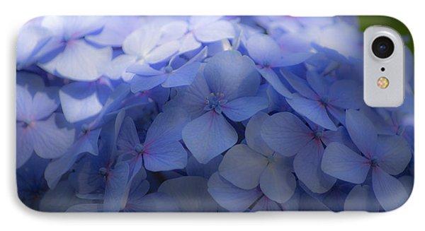 Blue Hydrangea One IPhone Case by Craig Perry-Ollila