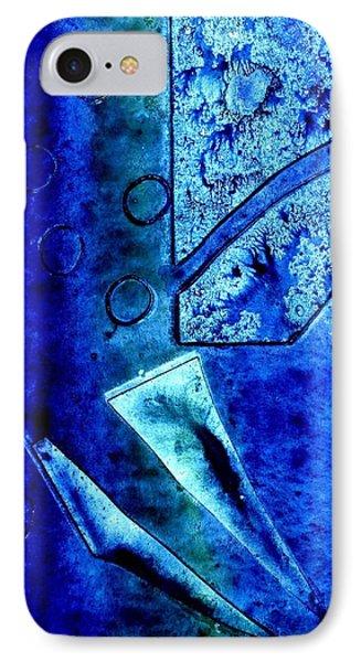 Blue I IPhone Case