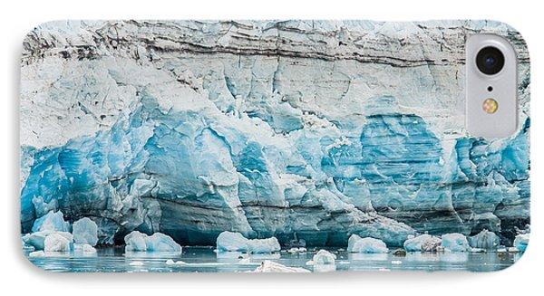 Blue Ice IPhone Case by Melinda Ledsome