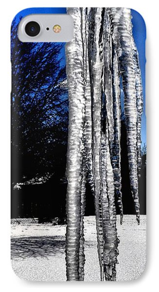 IPhone Case featuring the photograph Blue Ice by Luther Fine Art