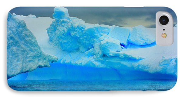 IPhone Case featuring the photograph Blue Icebergs by Amanda Stadther