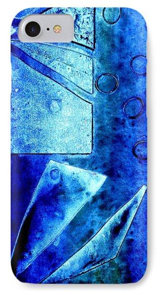 Blue   II IPhone Case