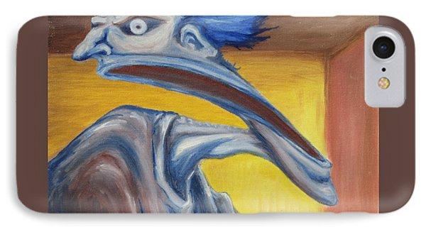 Blue - Internal Phone Case by Jeffrey Oleniacz
