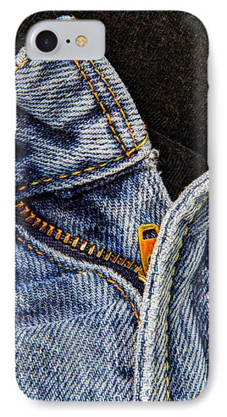 Blue Jeans IPhone Case by Wade Brooks