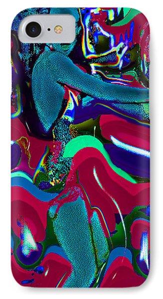 Blue La-rue Dancing IPhone Case