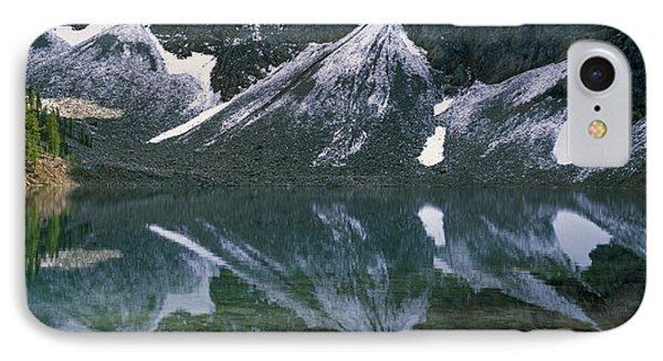 Blue Lake Reflection IPhone Case