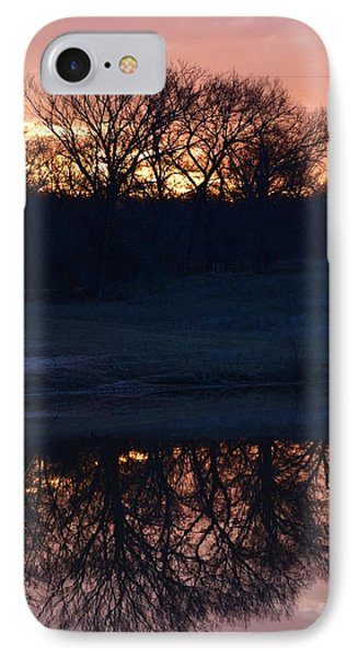 Blue Lake Sunset Xi IPhone Case by Ricardo J Ruiz de Porras