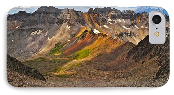 Blue Lakes Pass IPhone Case by Aaron Spong