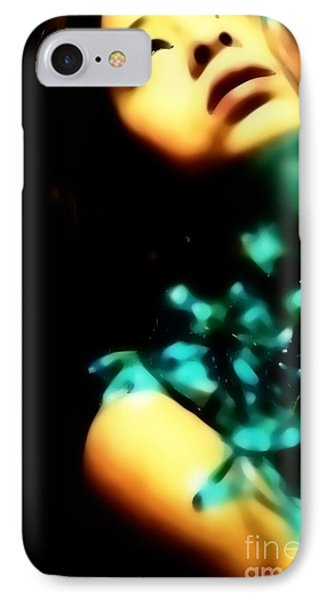 IPhone Case featuring the photograph Blue Lights by Jessica Shelton