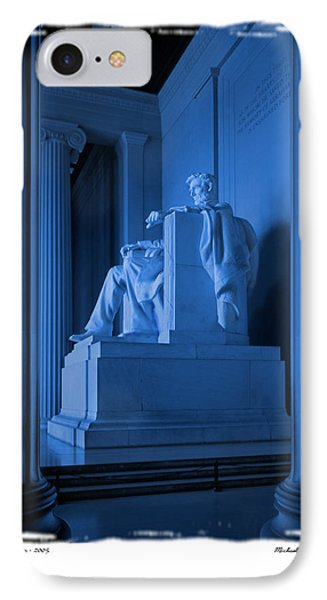 Blue Lincoln IPhone Case by Mike McGlothlen
