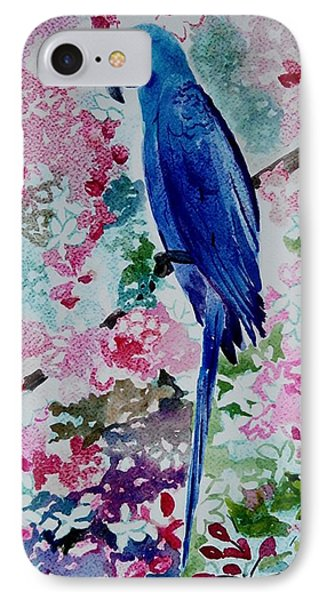 Blue Macaw  IPhone Case by Geeta Biswas