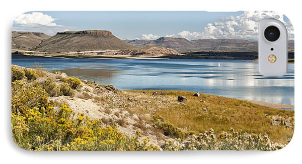 IPhone Case featuring the photograph Blue Mesa by Cheryl Davis