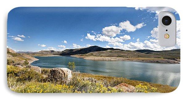 IPhone Case featuring the photograph Blue Mesa Reservoir by Cheryl Davis
