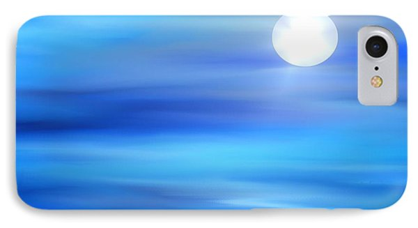 IPhone Case featuring the painting Super Moon by Yul Olaivar