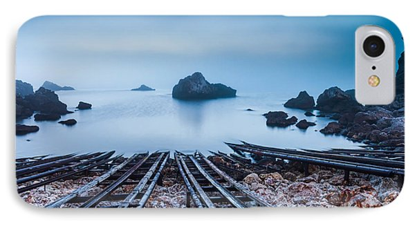 Blue Mist Hour IPhone Case by Evgeni Dinev