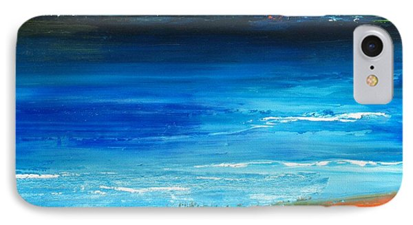 Blue Mist Over Nantucket Island IPhone Case