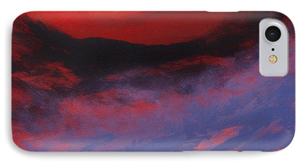 Blue Mist Rising Phone Case by Neil McBride