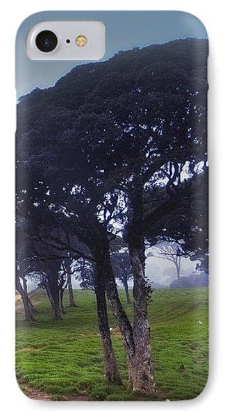 Blue Mist Silence. Sri Lanka Phone Case by Jenny Rainbow