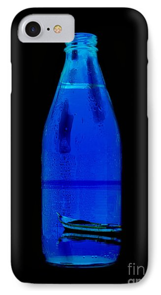 Blue IPhone Case by Mohamed Elkhamisy