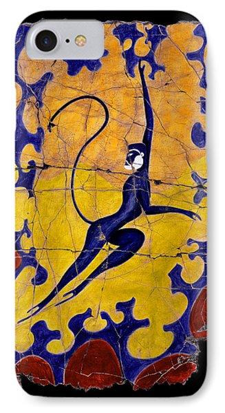 Blue Monkey No. 13 IPhone Case