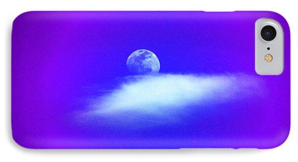 Blue Moon Lavender Sky IPhone Case by Susanne Still