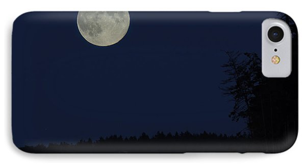Blue Moon IPhone Case by Randy Hall